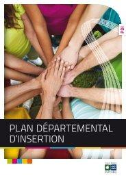 Plan départemental d'insertion - 3,7 Mo - Conseil général du Calvados