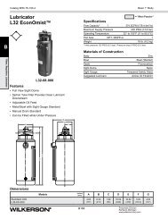 L32 Series - Wilkerson Corporation