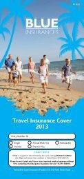 View Policy - Blue Insurances