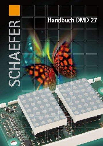 Benutzerhandbuch DMD 27 - SCHAEFER