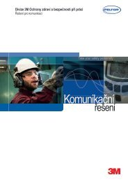 Katalog - komunikační řešení - 3M