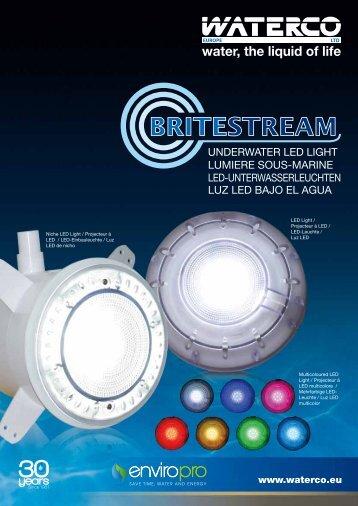 luz led bajo el agua led-unterwasserleuchten ... - Waterco Europe