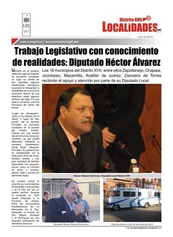 Diputado Héctor Álvarez