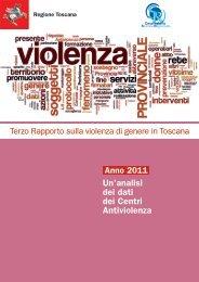 Terzo Rapporto sulla violenza di genere in Toscana - servizi on-line ...