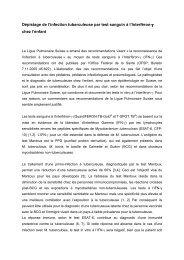 Interferongammatest - Stellungnahme französisch 12-2005
