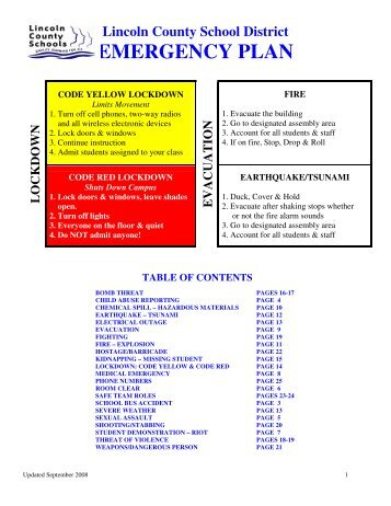 emergency plan template for schools - faith based emergency plan template ada county emergency