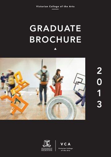 GRADUATE BROCHURE - Victorian College of the Arts - University ...