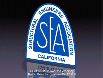 2011 Excellence in Structural Engineering Awards - SEAONC