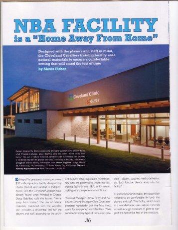 NBA Training Facility - Ames Tile & Stone