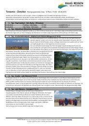 zum Weiterlesen/PDF-Datei - HAAS REISEN haas tour & travel profis