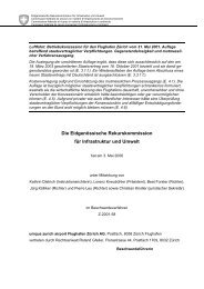 Die Eidgenössische Rekurskommission für Infrastruktur und ... - Vpb