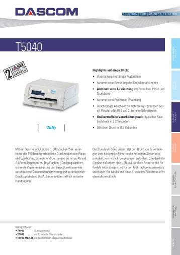 Produktname T5040