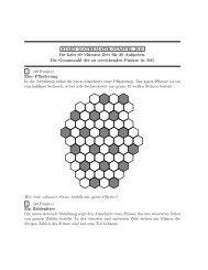 2010 Aufgaben incl. Lösungen Staffel - Mathematik in Bonn