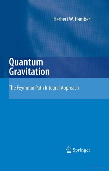 Feynman Path Integral Formulation