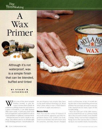 Wax Primer