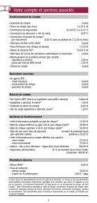 Les conditions tarifaires - BPE - Page 3