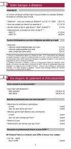Les conditions tarifaires - BPE - Page 4