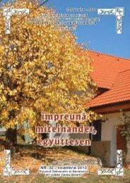 impreuna octombrie nr32 - Demokratisches Forum der Banater ...