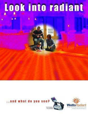 Radiant Heating Brochure.qxd - Watts Water Technologies, Inc.