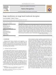 Shape classification via image-based multiscale ... - ResearchGate