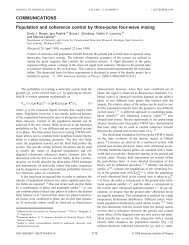 Using JCP format - Department of Chemistry - Michigan State ...