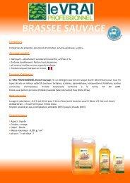 BRASSEE SAUVAGE - Le Vrai Professionnel