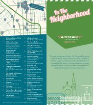 Download the full guide. - Artscape