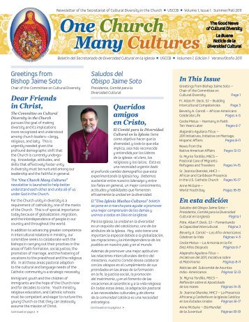 One Church Many Cultures - United States Conference of Catholic ...