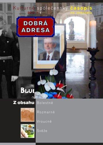 1 • 2012 - Dobrá adresa