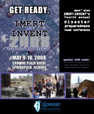 IMERT INVENT - The Illinois Medical Emergency Response Team