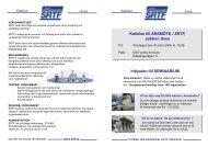 Kallelse till ÅRSMÖTE i SRTF, sektion Svea Inbjudan till SEMINARIUM