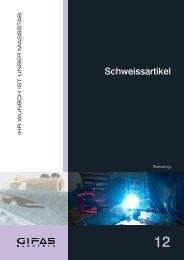 Register 12 Schweissartikel - GIFAS W.J. Gröninger ELECTRIC GmbH