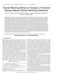 Overall Blocking Behavior Analysis of General Banyan ... - IEEE Xplore