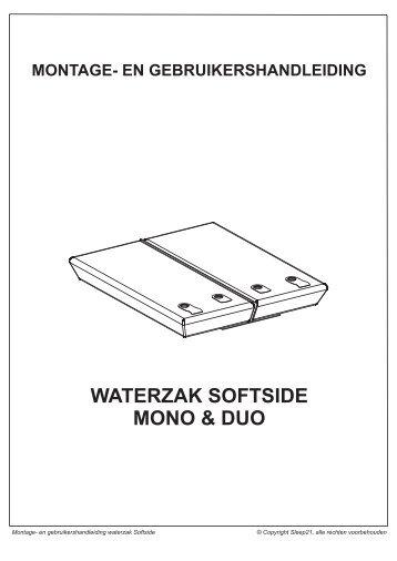 handleiding waterzak softside... -  Waterbed