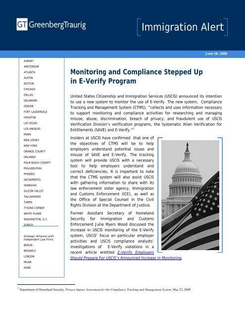 E Verify Program >> Monitoring And Compliance Stepped Up In E Verify Program