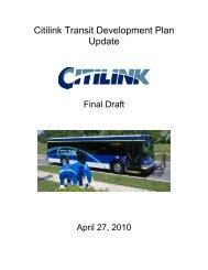 Citilink Transit Development Plan Update