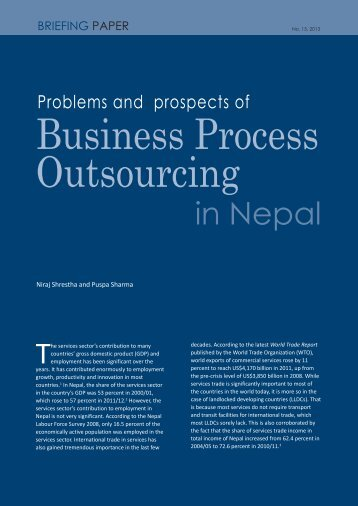 Business Process Outsourcing in Nepal - South Asia Watch on ...