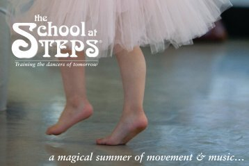 a magical summer of movement & music… - Steps on Broadway