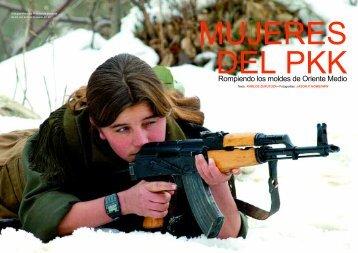 mujeres del pkk - Pen-Kurd