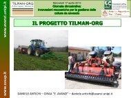 Presentazione Prog. TILMAN-ORG - Daniele Antichi – Tecnico ...