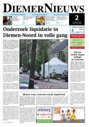 Onderzoek liquidatie in Diemen-Noord in volle gang - WeesperNieuws