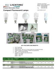 Replacement for SLI Sylvania Lighting 5030007 Light Bulb This Bulb is Not Manufactured by SLI Sylvania Lighting 2 Pack