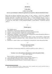 Vyhláška č. 208/2008 Sb.