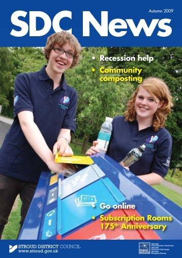 Newsletter - Autumn 2009 - Stroud District Council