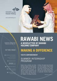 Rawabi Holding Newsletter Issue 26