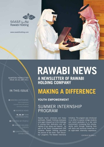Rawabi Holding Newsletter Issue 26