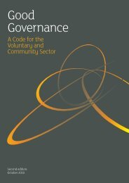 Good Governance: A Code for the Voluntary and ... - NCOSS