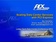 Download the PDF of this Presentation - PLX Technology