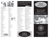 SEI Brochure Student Version 2010 Final.indd - Westminster Home