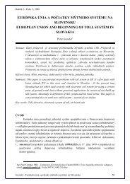európska únia a počiatky mýtneho systému na slovensku european ...